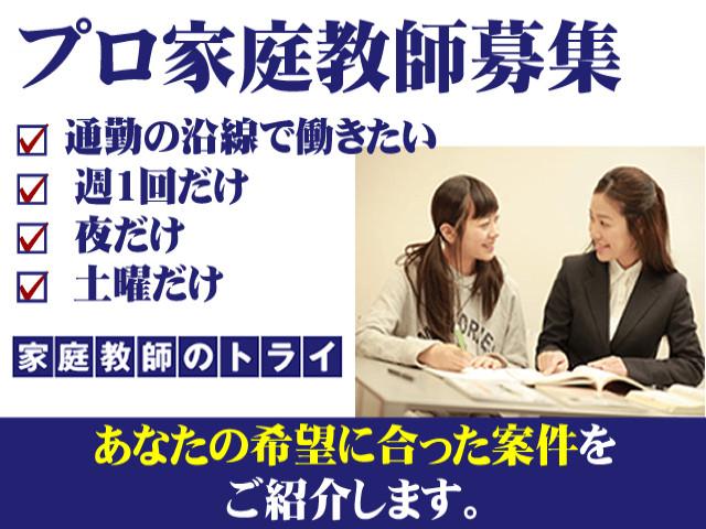 家庭教師のトライのアルバイト情報